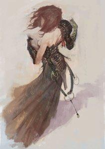 Femme Mage by Georgios Dimitriou