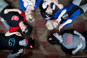 Some awesome Homestuck cosplay.