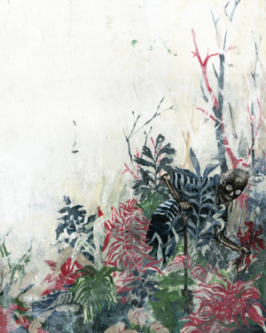 fragment uit '123 DOOD' Artist: illustrafrieke