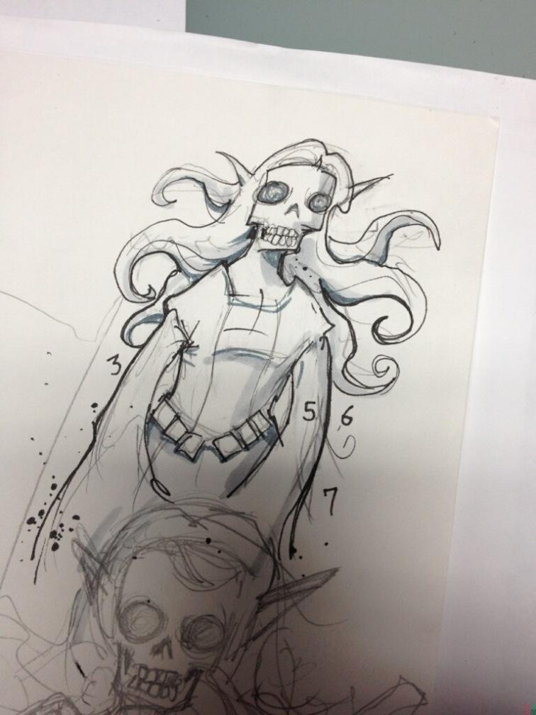Design Sketch - Mike Groves @poopbird