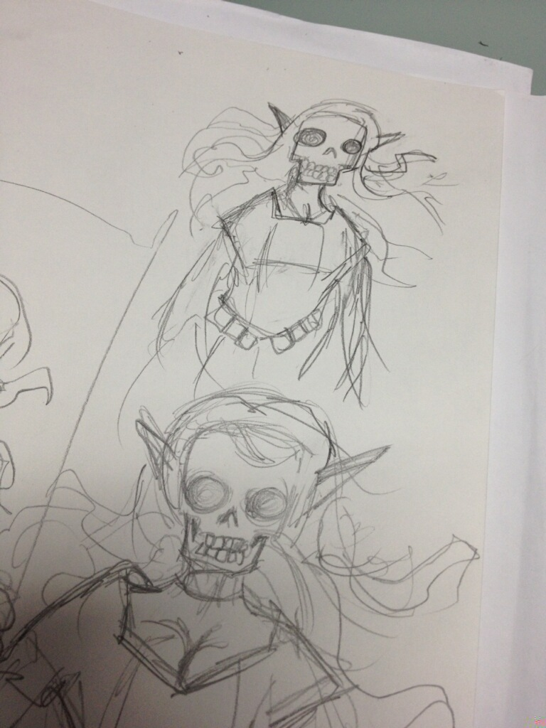 Design Sketch - Mike Groves - @poopbird